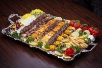 Catering Shish Kabob Platter